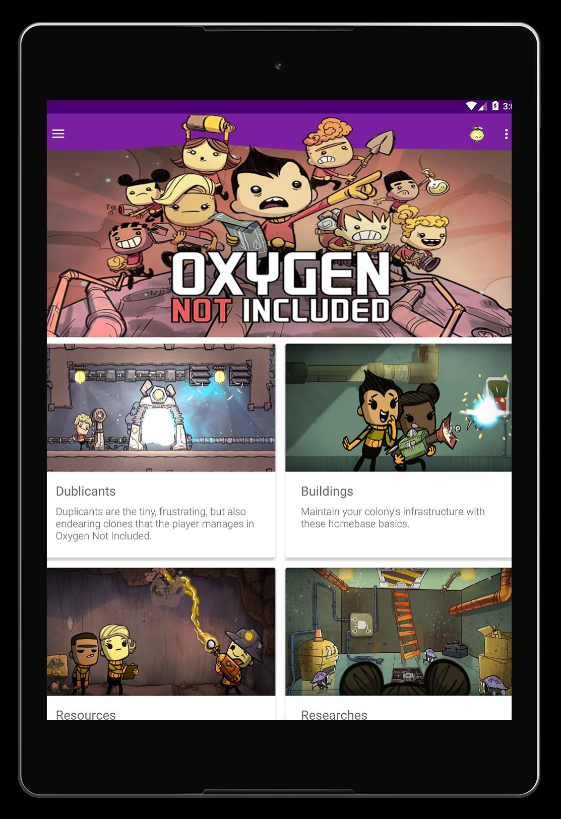 Oxygen Not Included Guide for Android - APK Download