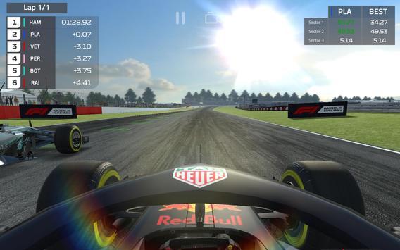F1 Mobile Racing imagem de tela 6