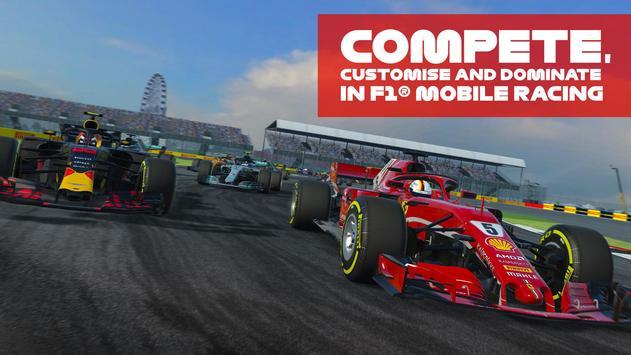 F1 Mobile Racing पोस्टर