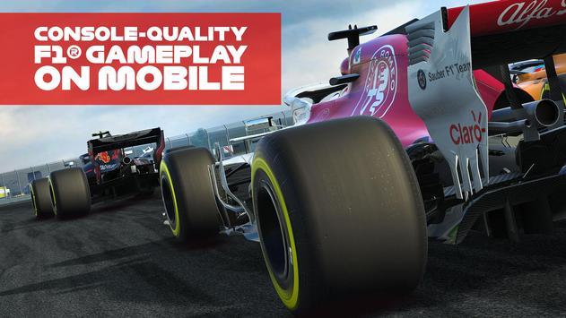 Poster F1 Mobile Racing