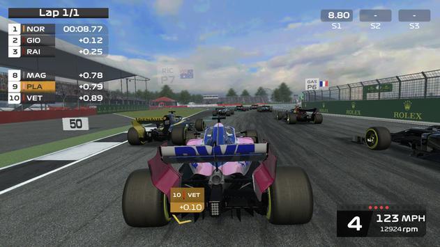F1 Mobile スクリーンショット 1