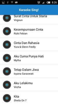 Karaoke Indonesia Offline screenshot 3