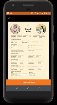 Easy Biodata Maker screenshot 1