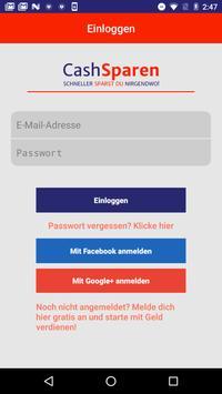 CashSparen.de screenshot 1