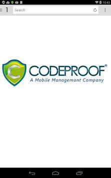Codeproof Secure Browser screenshot 3