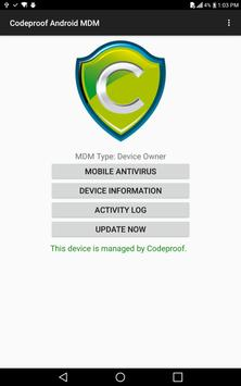 Codeproof MDM for Android screenshot 4