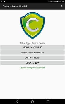 Codeproof MDM for Android screenshot 7