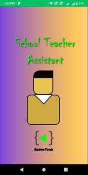 School Teacher Assistant poster