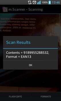 QR / Barcode scanner screenshot 2