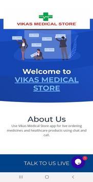 VIKAS MEDICAL STORE poster
