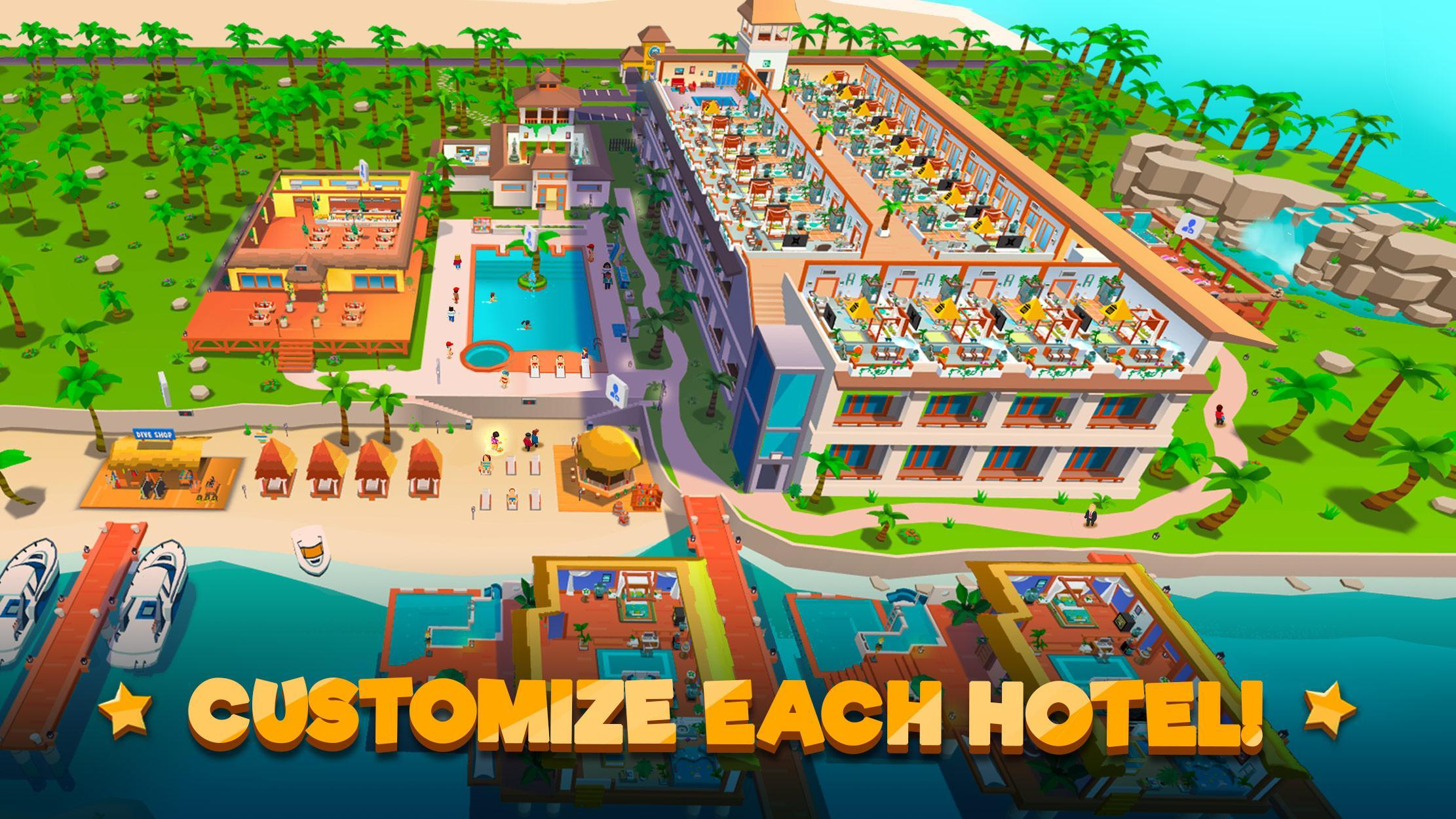 Hotel Empire Tycoon poster