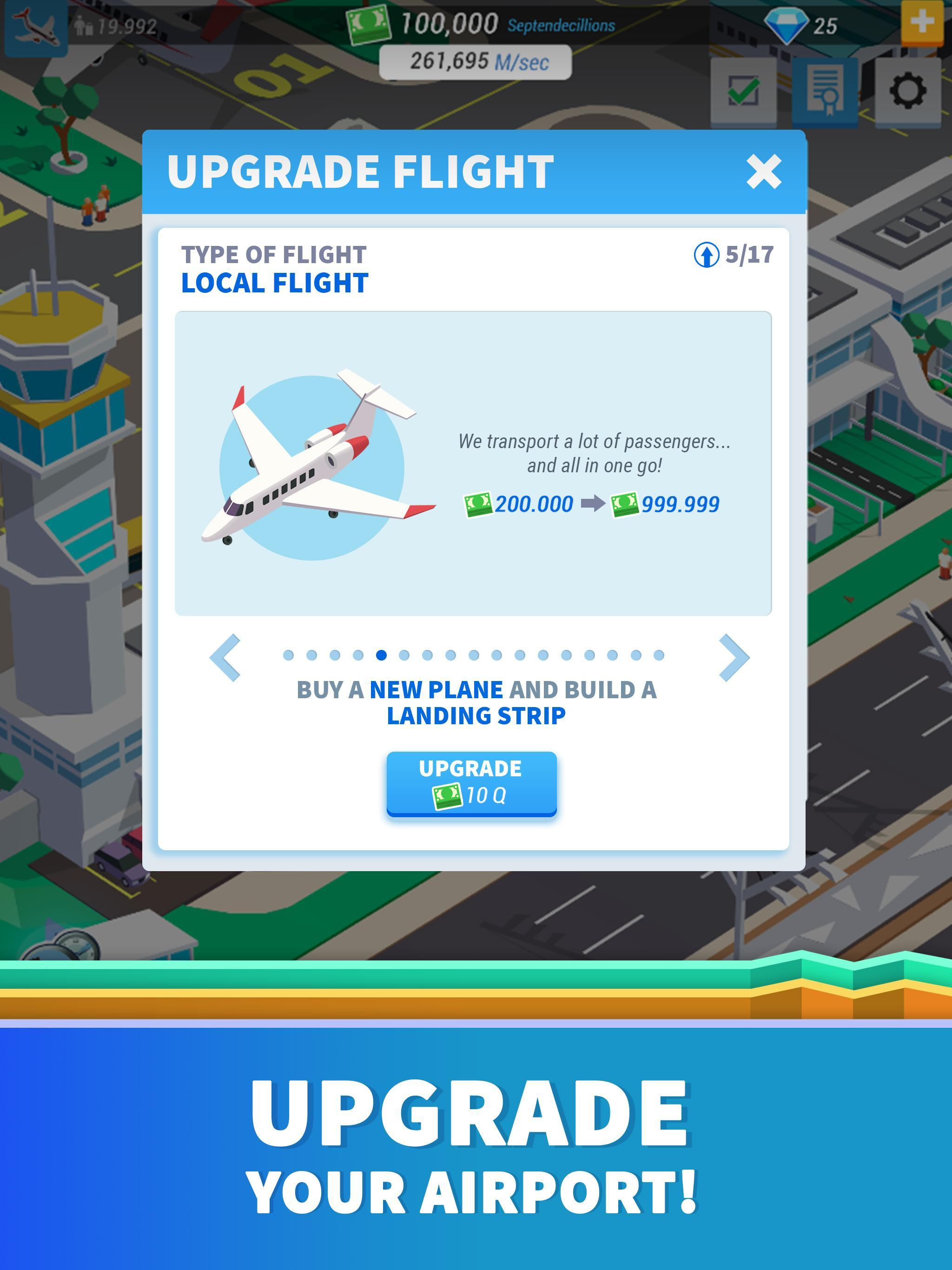 Building The Biggest Airport Ever In Roblox Airport Tycoon Youtube Idle Airport Tycoon For Android Apk Download