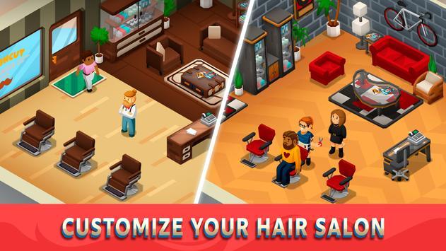 Idle Barber Shop Tycoon screenshot 3