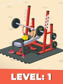Idle Fitness Gym Tycoon screenshot 4