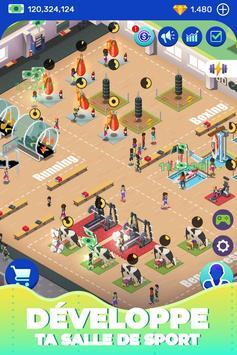 Idle Fitness Gym Tycoon capture d'écran 3