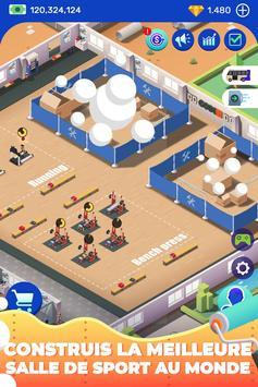 Idle Fitness Gym Tycoon capture d'écran 4