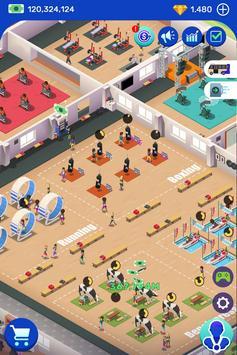 Idle Fitness Gym Tycoon capture d'écran 5