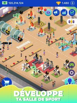 Idle Fitness Gym Tycoon capture d'écran 9