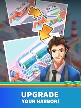 Idle Harbor Tycoon - Incremental Clicker Game screenshot 12