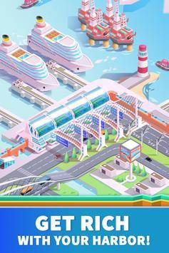Idle Harbor Tycoon - Incremental Clicker Game screenshot 1