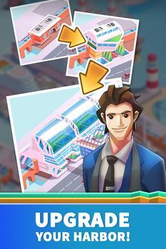 Idle Harbor Tycoon - Incremental Clicker Game screenshot 2