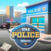 Idle Police Tycoon-Police Game icono
