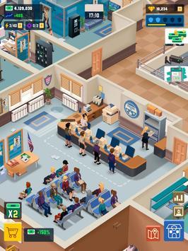 Idle Police Tycoon-Police Game captura de pantalla 20