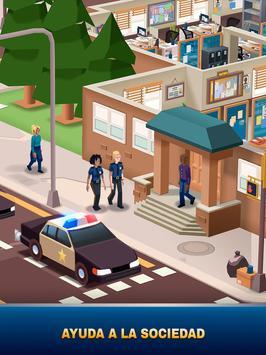 Idle Police Tycoon-Police Game captura de pantalla 11