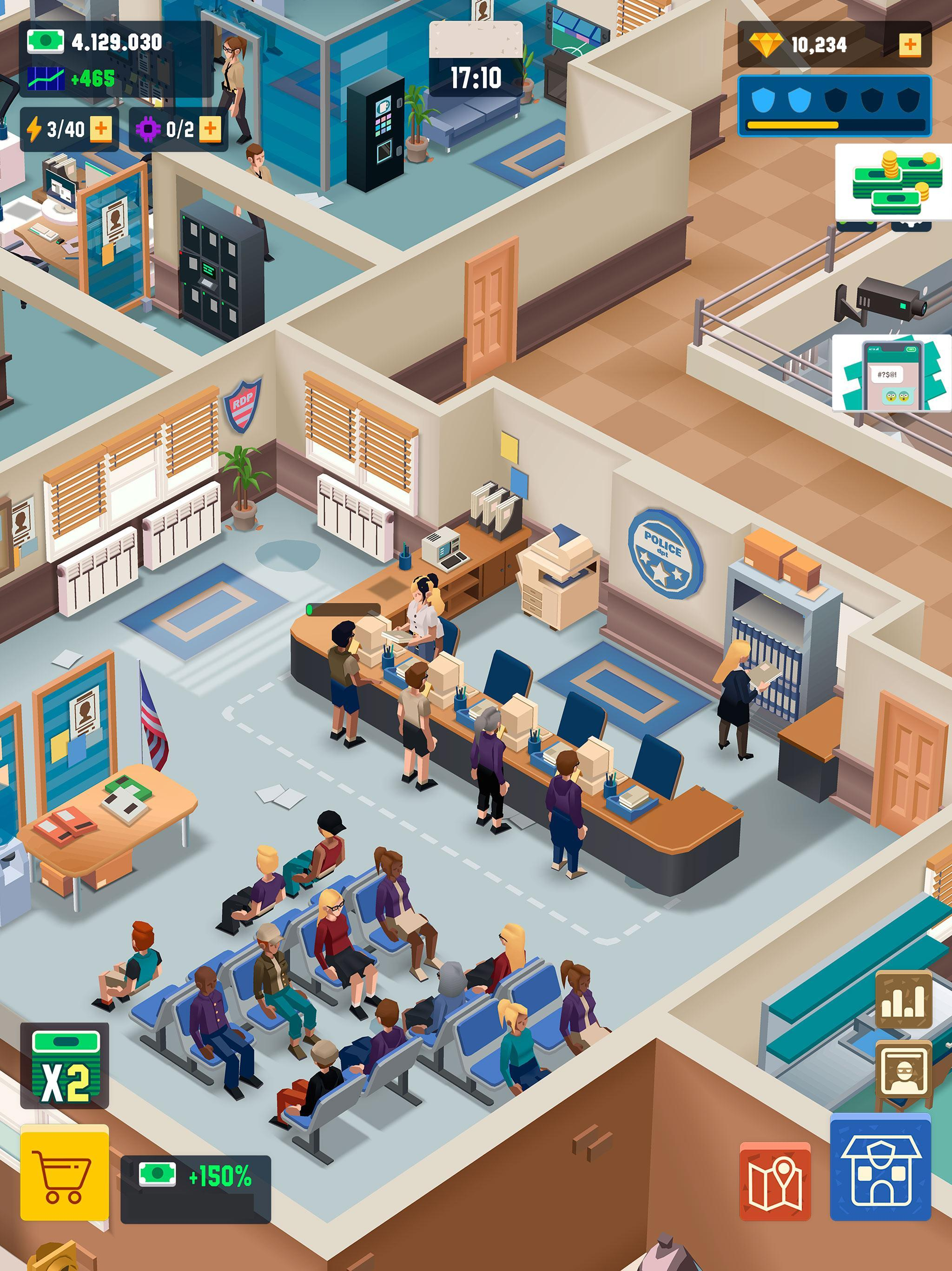 Police Tycoon Games