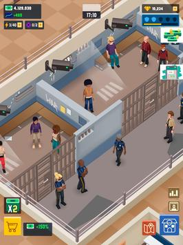 Idle Police Tycoon-Police Game captura de pantalla 14