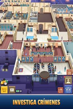 Idle Police Tycoon-Police Game captura de pantalla 4