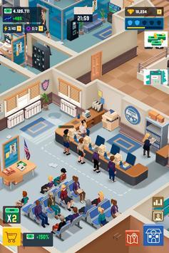 Idle Police Tycoon-Police Game captura de pantalla 6