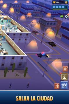 Idle Police Tycoon-Police Game captura de pantalla 5