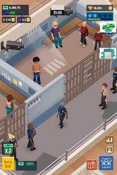 Idle Police Tycoon-Police Game captura de pantalla 7