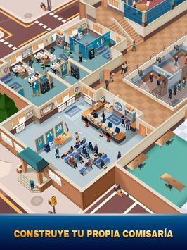 Idle Police Tycoon-Police Game captura de pantalla 8