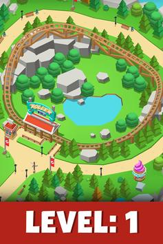 Idle Theme Park Tycoon - Recreation Game poster