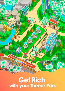 Idle Theme Park Tycoon - Recreation Game screenshot 1