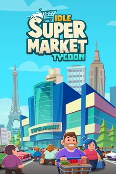 Poster Idle Supermarket Tycoon