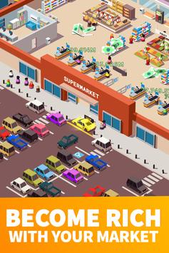 Idle Supermarket Tycoon screenshot 1
