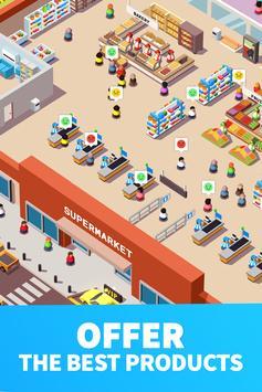 4 Schermata Idle Supermarket Tycoon