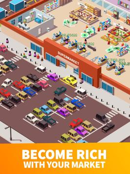 6 Schermata Idle Supermarket Tycoon