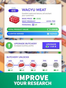 7 Schermata Idle Supermarket Tycoon