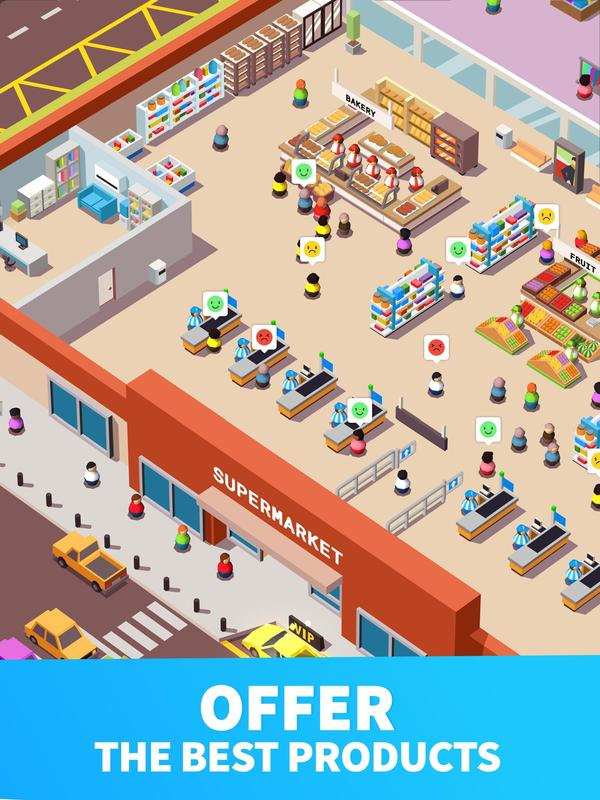Idle Supermarket Tycoon free generator without human verification