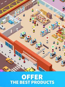 9 Schermata Idle Supermarket Tycoon