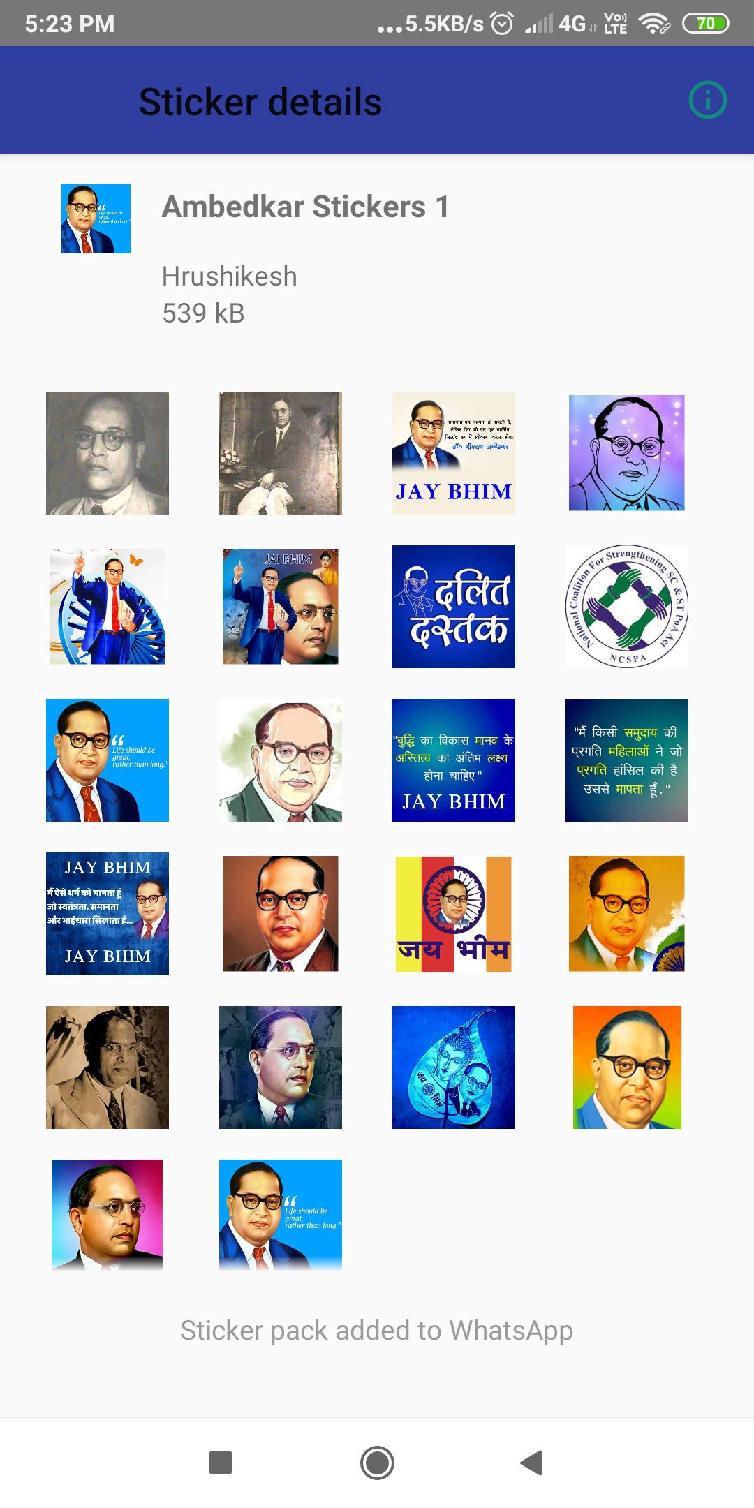 Jay Bhim Stickers For WhatsApp for Android - APK Download