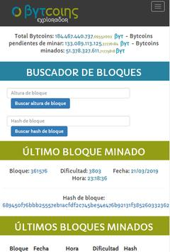 Bytcoins (BYT) - Sistema Blockchain en español screenshot 5