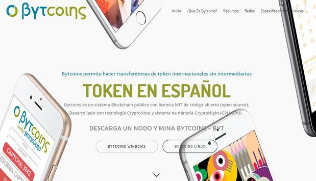 Bytcoins (BYT) - Sistema Blockchain en español screenshot 8