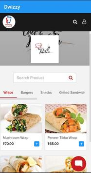 Dwizzy - Restaurant Finder and Food Delivery App screenshot 1