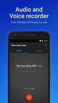 Easy Voice Recorder gönderen