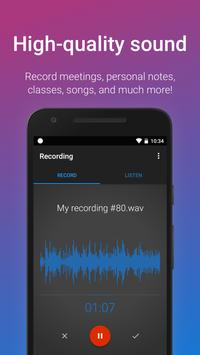 Easy Voice Recorder screenshot 1
